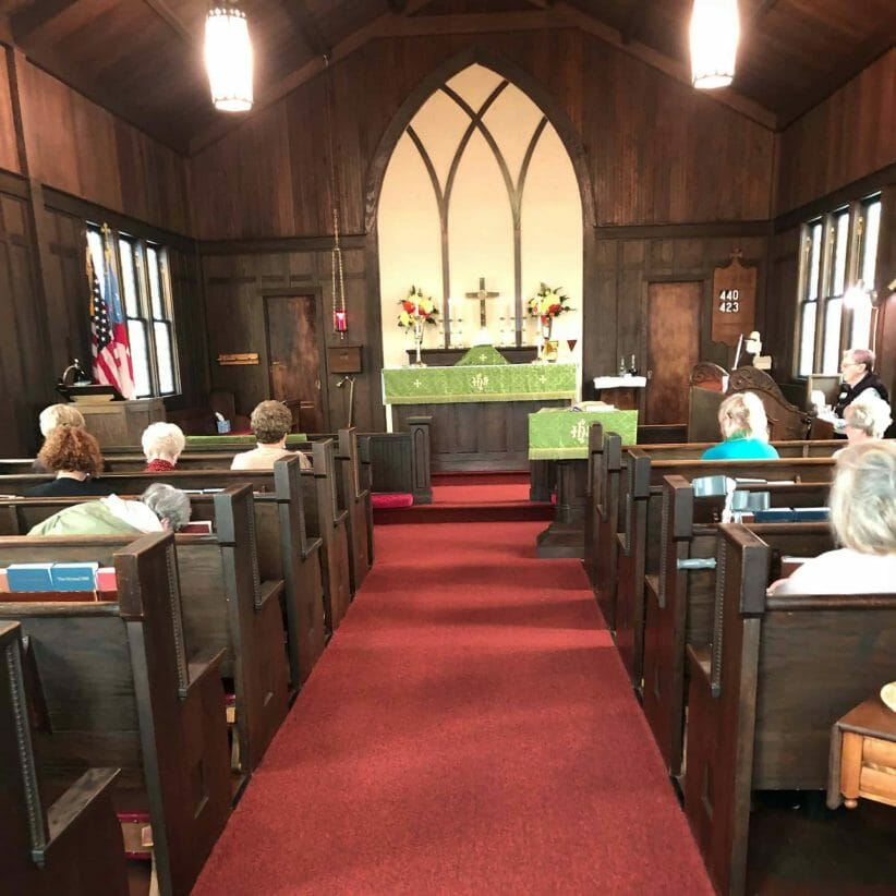 St. Mary, Gardiner ordinary time service
